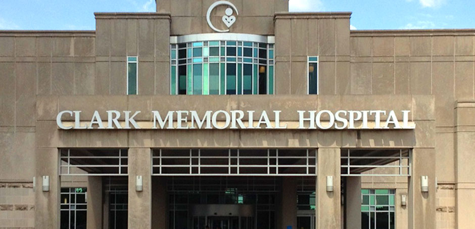 Clark Memorial Hospital in New Albany IN