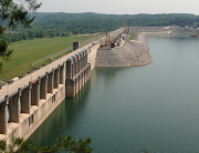 Wolf Creek Dam in Russell County, KY